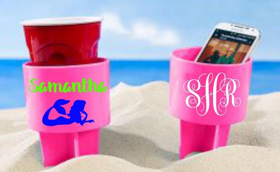 Beach Spiker//Personalized Drink Holder