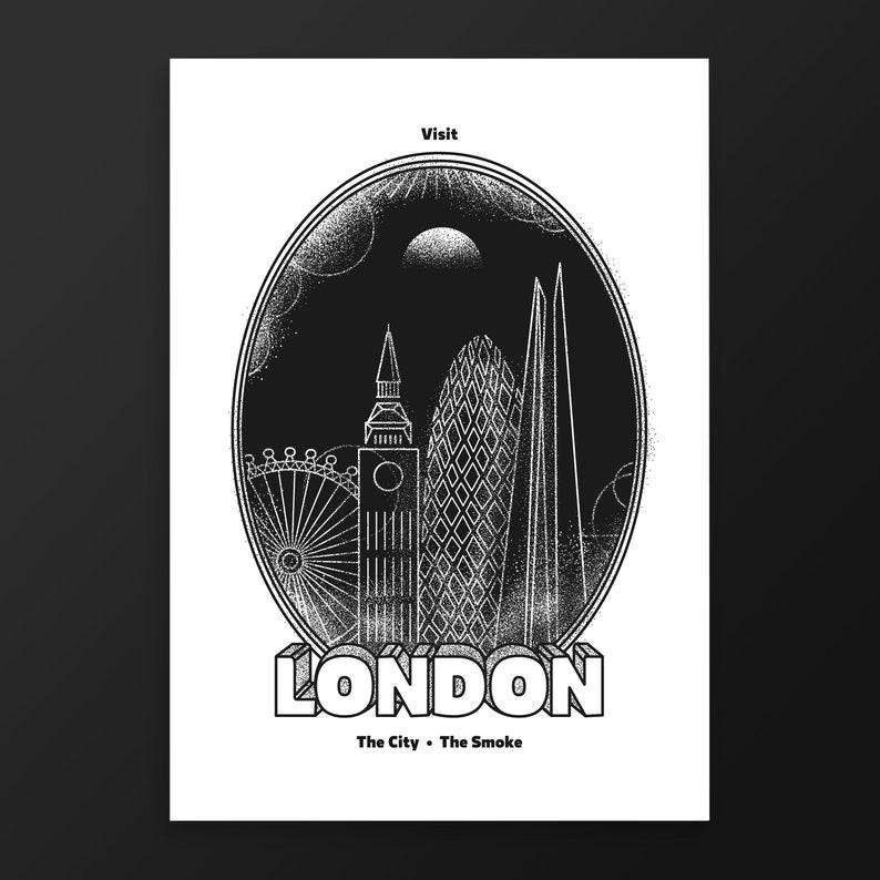 London Print  Prints Wall Art  London Prints  Poster  image 0