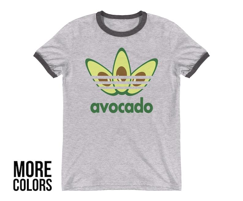 6f8d82ae5e52f AVOCADO Avocado Shirt Adidas Shirt Adidas Vegan Tumblr | Etsy