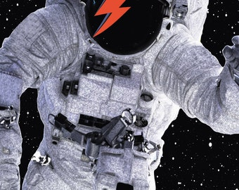 David Bowie, Major Tom Direct Télécharger Print
