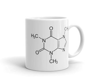 Caffeine Molecula mug size 11oz
