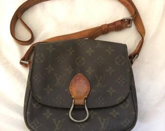 f2ae38fb0696 Louis Vuitton authentique monogramme Saint Cloud MM sac à bandoulière lV  Vintage Cross body