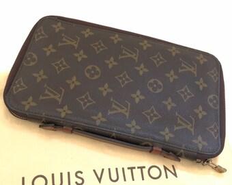 540289f14c800 LOUIS VUITTON Auth Monogram Zippy Passport Case Purse Long Bifold Vintage  RARE! Mint!