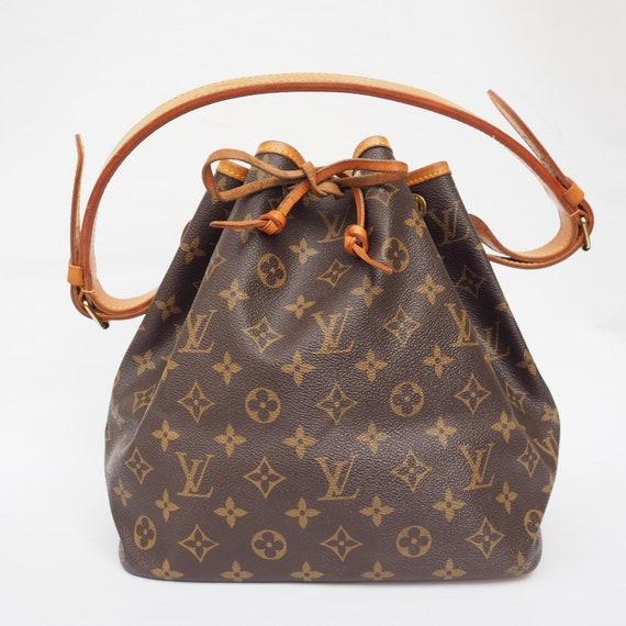 Louis Vuitton Shoulder Bag Petit Noe M42226 Beige
