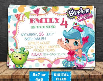 Shopkins Package Shopkins Party Shopkins Birthday Party Kit