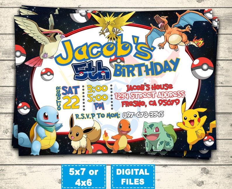 picture about Printable Pokemon Birthday Invitations named Pokemon transfer invitation, pokemon birthday invites, pokemon transfer birthday get together, pokemon invite, pokemon printable, pokemon shift electronic.