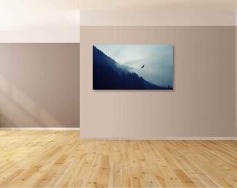Eagle Mountains canvas print