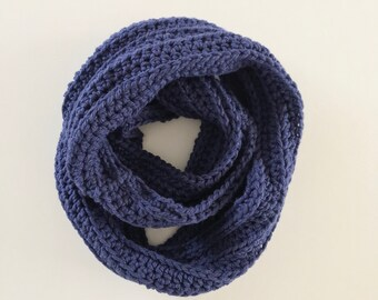 Crochet infinity scarf   made to order