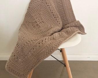 Crochet blanket | ready to ship | handmade