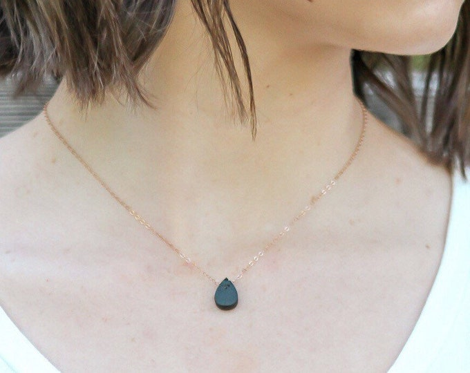 Droplet  Essential Oil Diffuser Necklace, essential oil necklace, lava stone necklace diffuser, diffuser jewelry, aromatherapy, jw