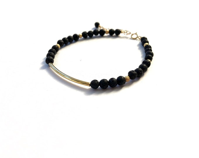 black and gold essential oil diffuser bracelet , Diffuse jewelry, bracelet diffuser, lava rock bracelet, diffuser jewelry, aromatherapy, jw