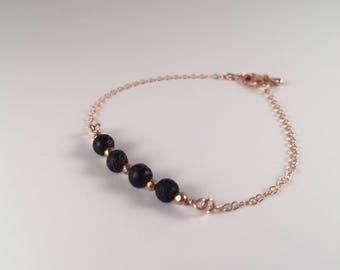 Layla, Rose Gold diffuser bracelet, silver diffuser bracelet, diffuser jewelry, diffuser bracelet, essential oil bracelet rose gold bracelet