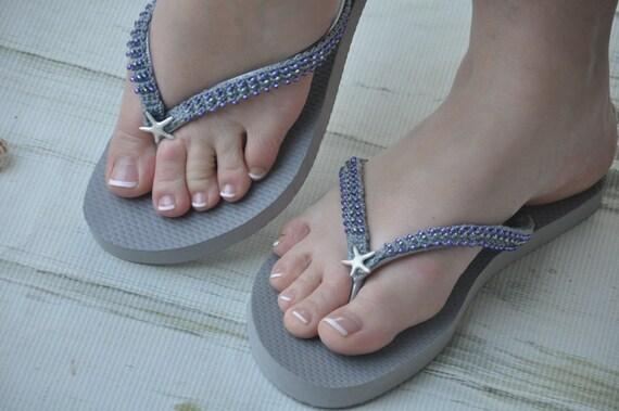6de90c86865e00 WEDDING Flip FlopsBridal Flip Flops.Bridal Shoes.Beach