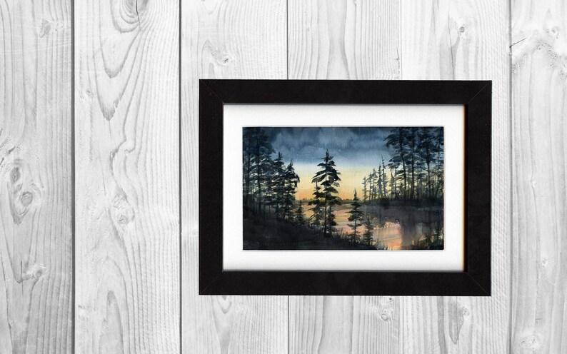 landscape art print print nature art wall art prints art print landscape painting saltwatercolors painting decor forest print art
