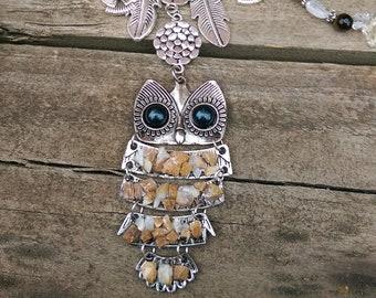 Tiger Eye / Owl Dreamcatcher Handmade Melbourne