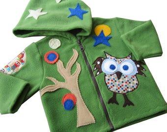 Tip Jacket Owl Forest, jacket, transition jacket