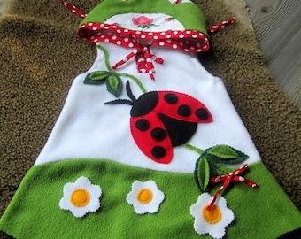 Zip dress or ladybug dress