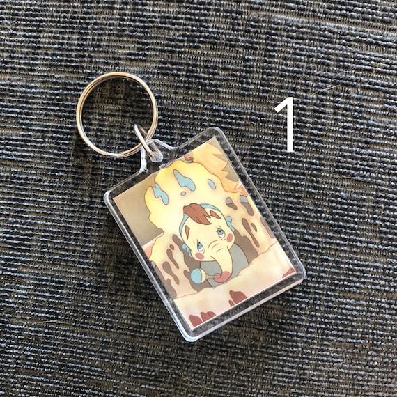 Key chain Dumbo Silhouette