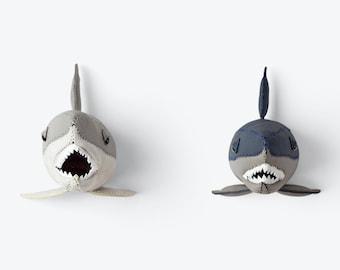 Small Grey Shark head