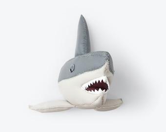 Large Grey Shark head