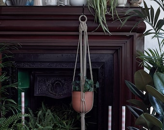 double C 69.5cm high Handmade Thailand Reclaimed Thai teak wood plant holder