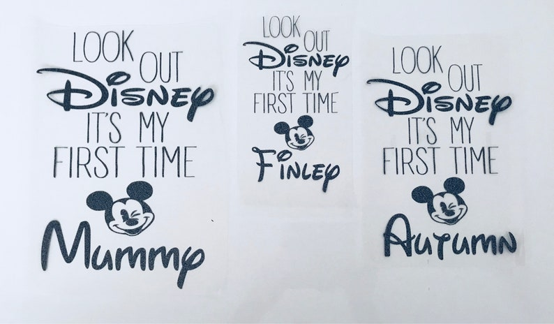 Disney Fund Autocollant Vinyle pour box Frame