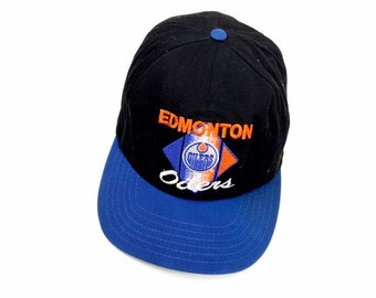 8a2faa986f5e8 Vintage Edmonton Oilers snapback hat