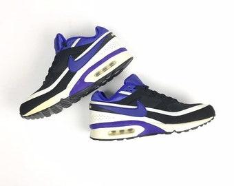 pretty nice ed950 a4d73 Mens Nike Air max shoes, royal blue, white and black colourway