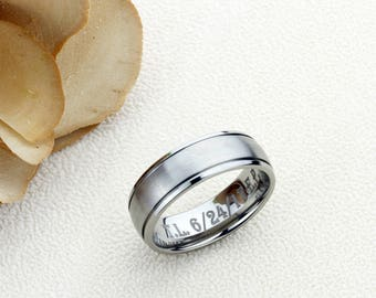 Promise rings no sex engraved