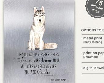 Dog adoption quote | Etsy