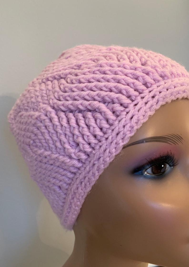 Waves Beaniepale pinkwinter hatcap