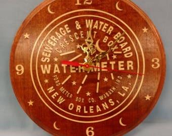 Custom Water Meter Clock