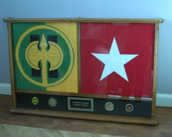 Military Display Case