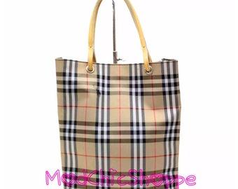 Authentic Vintage Burberry Mini Tote Bag 4434a0416cc0a