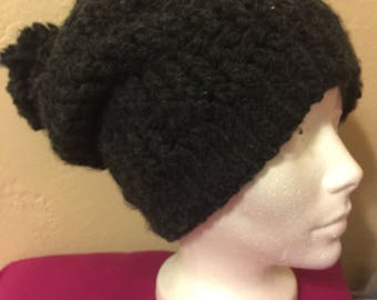 Stepping Textures Crochet Hat FULLY Lined!