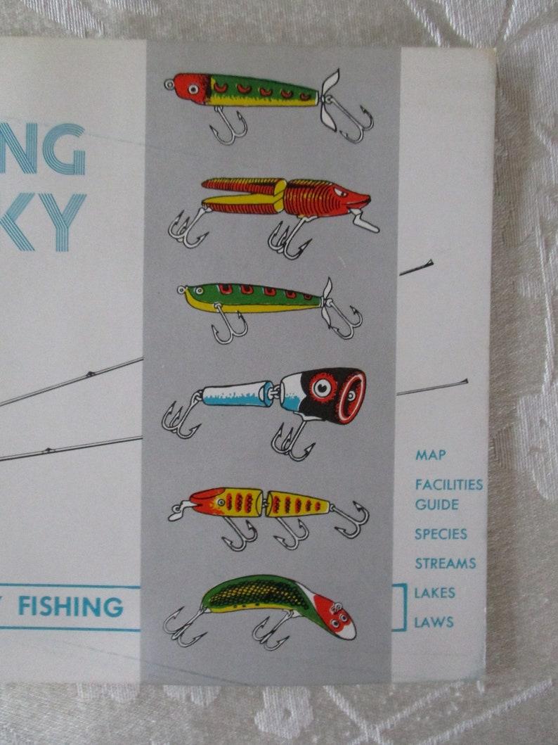 Vintage 1959 Fishing In Kentucky Manual A Manual For Kentucky Fishing Vintage Fishing Manual The Lure of Fishing In Kentucky Travel Guide