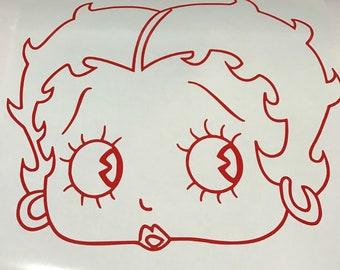 Betty Boop Decals