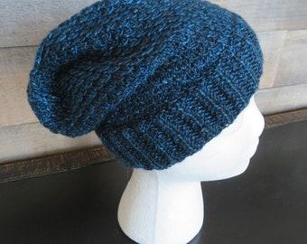 KNITTING PATTERN Easy beanie knitting pattern beginner  2d1d564e4fb