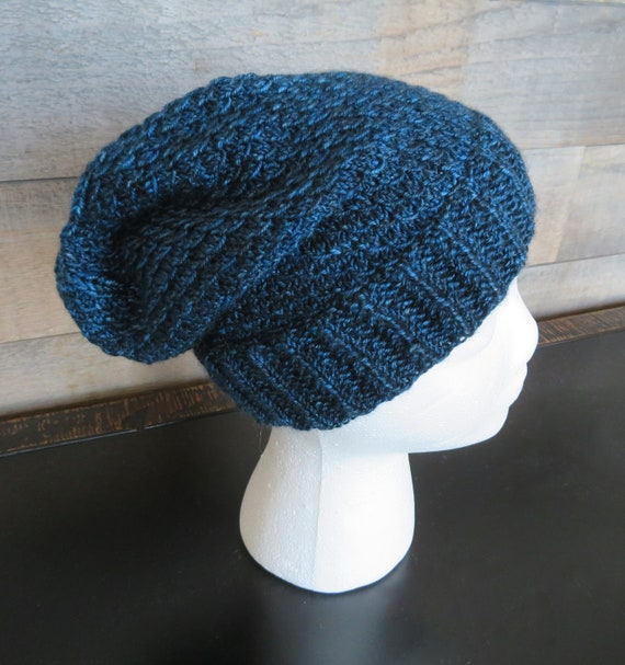 Knitting Pattern Mermaid Scales Slouch Hat Slouch Hat Etsy