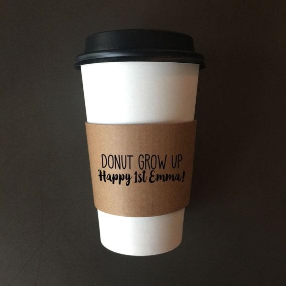 Custom Cup Sleeves | Customized Coffee Sleeves