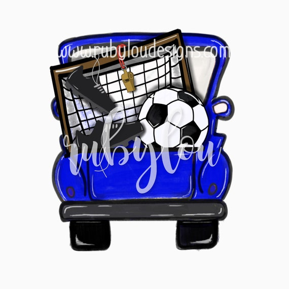 BUNDLE SOCCER SOCCER BUNDLE téléchargement numérique minimal camion Vintage ||  Football BUNDLEI imprimable oeuvre je fichier numérique d3757b