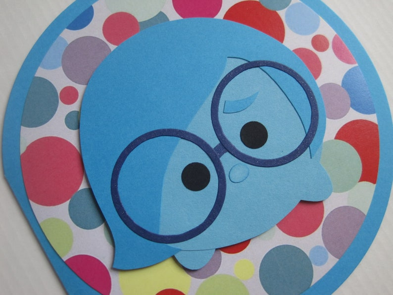 Birthday Card Inside Out-Sadness