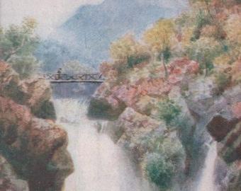 Bonnie Scotland, Loch Lomond. ~ Vintage  Postcard. ~ UnPosted ~  1900's. ~ Tucks Oilette