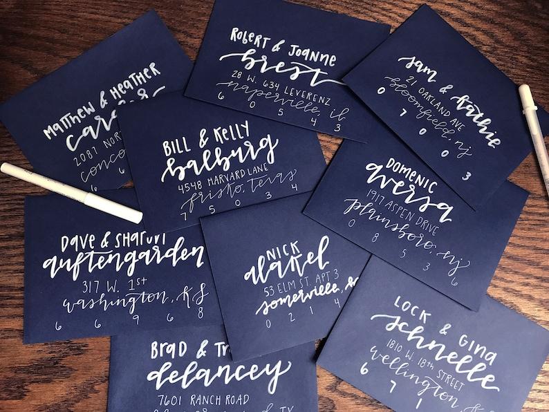 Envelope Addressing Wedding Invitation Envelope Addressing Address Invites Envelope Lettering Calligraphy Address Hand Lettered