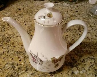 Karim Floral Porcelain Teapot