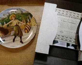 """1987 Knowles """"The Sound of Music"""" Commemorative Plate"""
