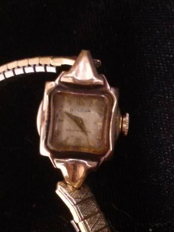 Vintage Bulova Ladies Watch