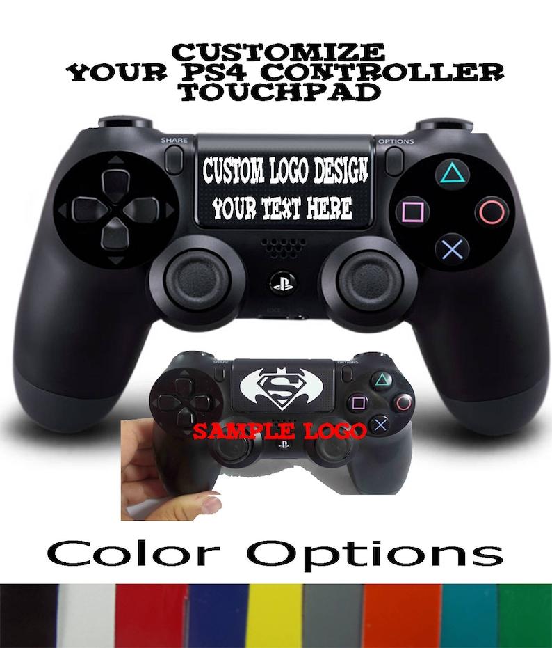 Playstation 4 Ps4 Controller Custom Personalisierte Decals Für Ihr Ps4 Touchpad