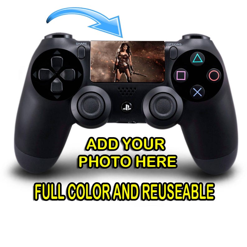 Playstation 4 PS4 Controller Custom Touchpad Full Color Decal Removable  Reuseable Touchpad Decal Sticker