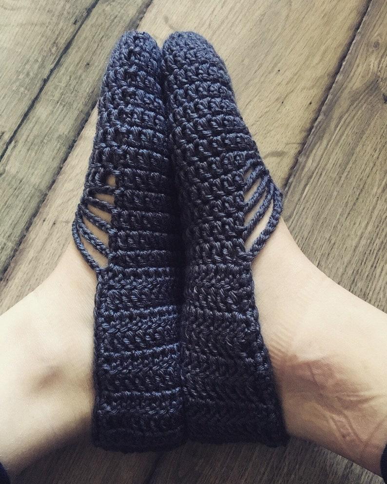 Crochet Ballet Slippers Etsy